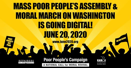 Mass Poor People's Assembly Digital March on Washington