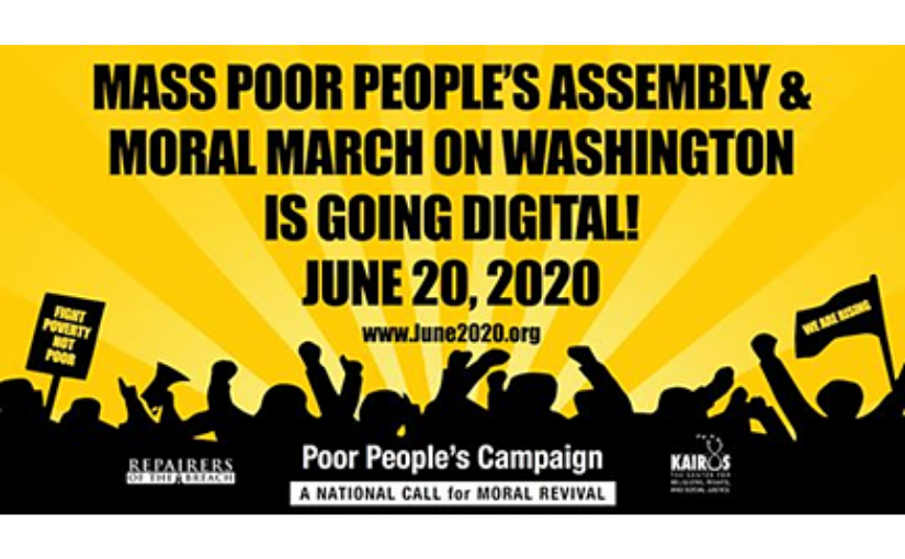 The Mass Poor People's Assembly and (Digital) Moral March on Washington