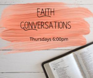 Thursday Prayer and Faith Conversations