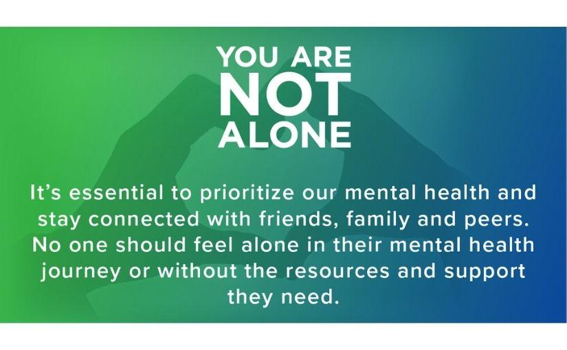 Mental Health Sunday (May 16)